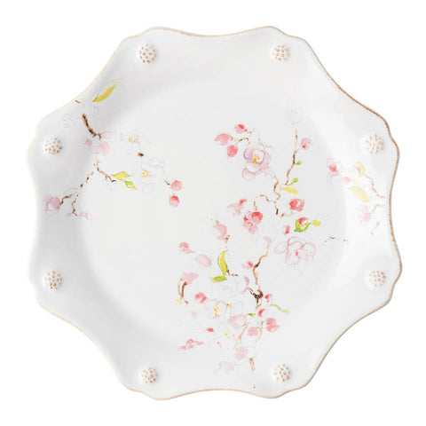 Berry & Thread - Floral Sketch Cherry Blossom Dessert/Salad Plate