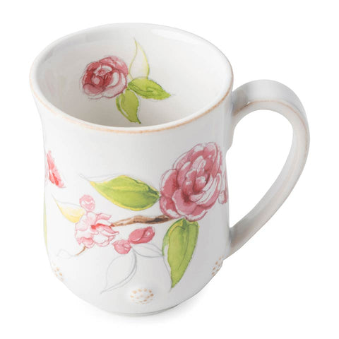 Berry & Thread - Floral Sketch Camellia Mug