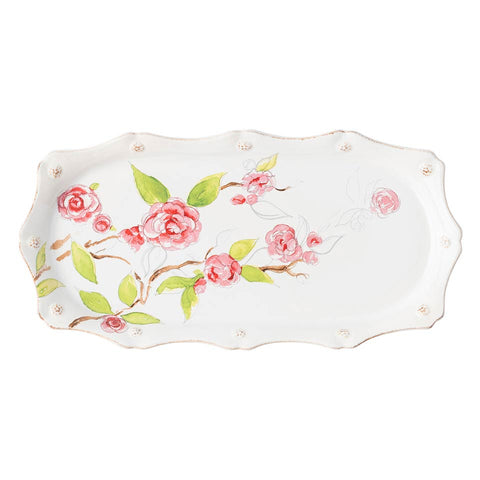 Berry & Thread - Floral Sketch Camellia Hostess Tray