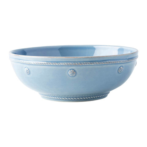 "Berry & Thread - Chambray Coupe Pasta Bowl  7.75"" W"