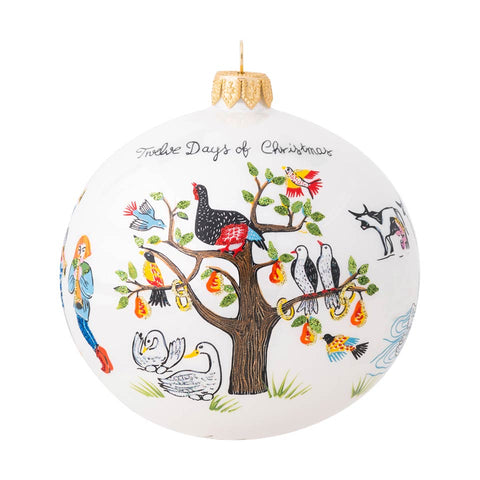 Ornaments Twelve Days of Christmas Glass Ornament - 2020 Limited Edition