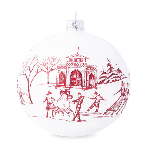 Ornaments Country Estate Winter Frolic Ruby Glass Ornament - 2020 Limited Edition