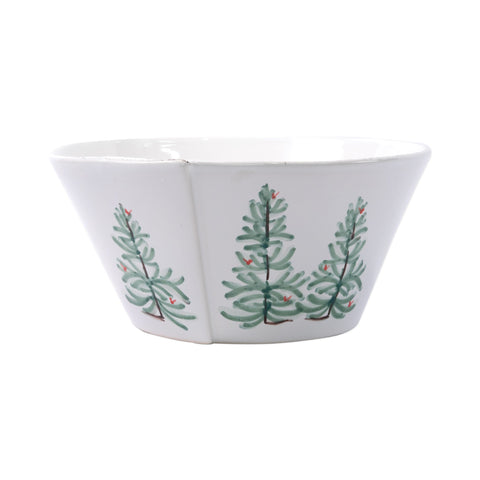 Lastra Holiday Large Stacking Serving Bowl