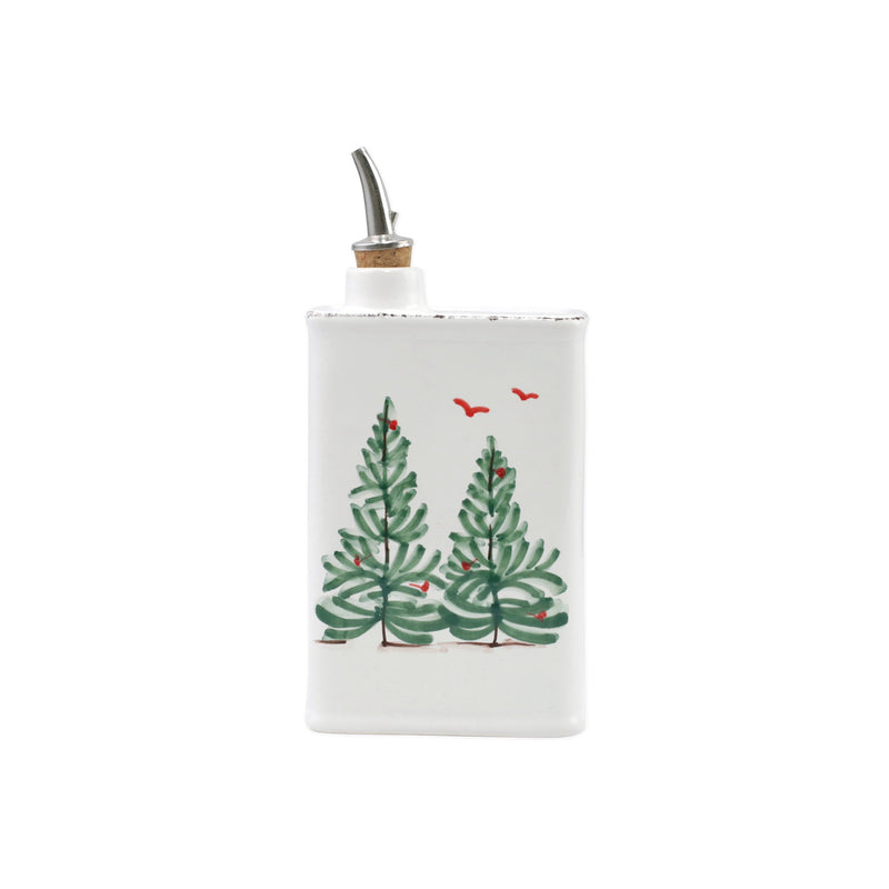 Lastra Holiday Olive Oil Can