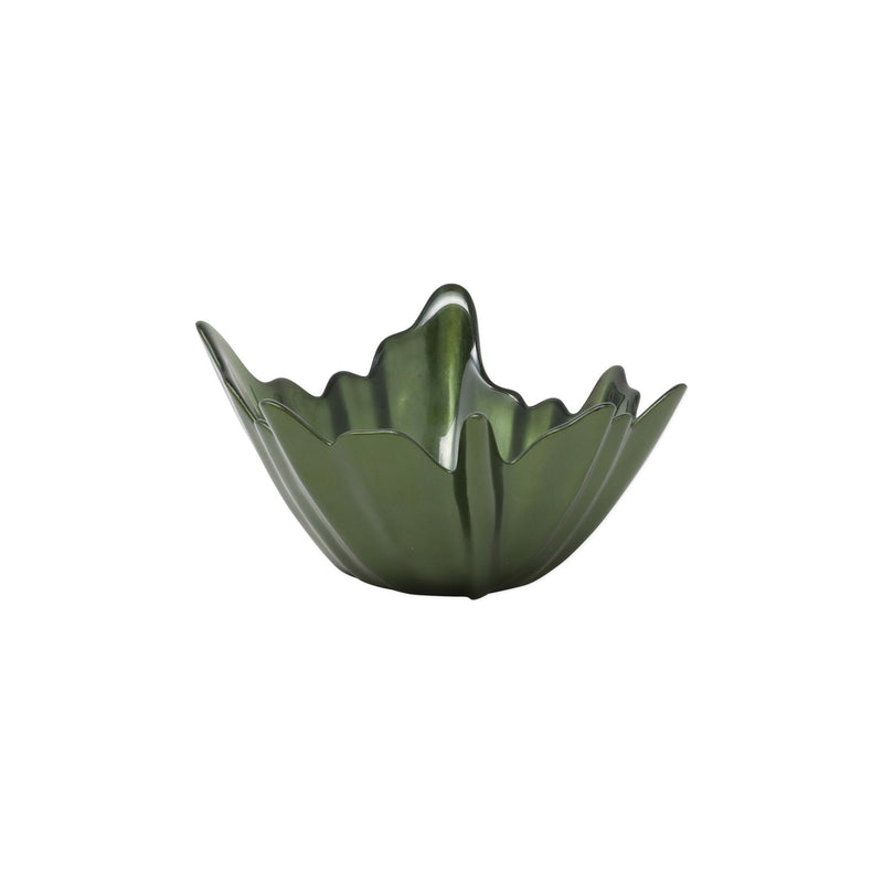 Leaf Glass Small Bowl