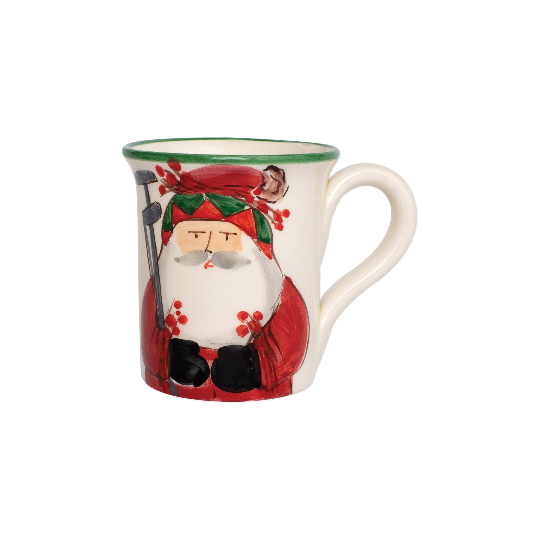 Old St. Nick Mug - Golfing