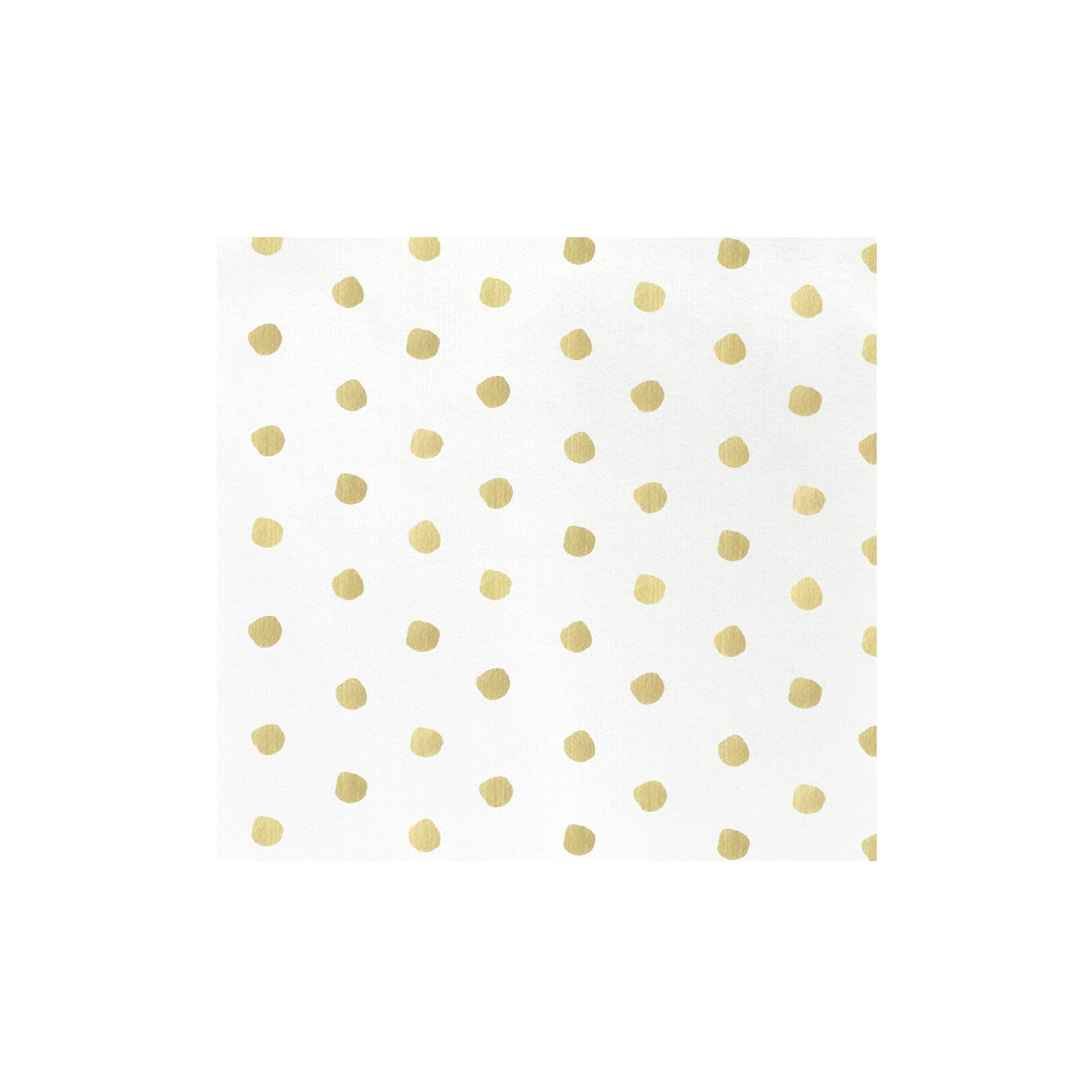 Papersoft Napkins Yellow Dot Dinner Napkins (Pack of 20)