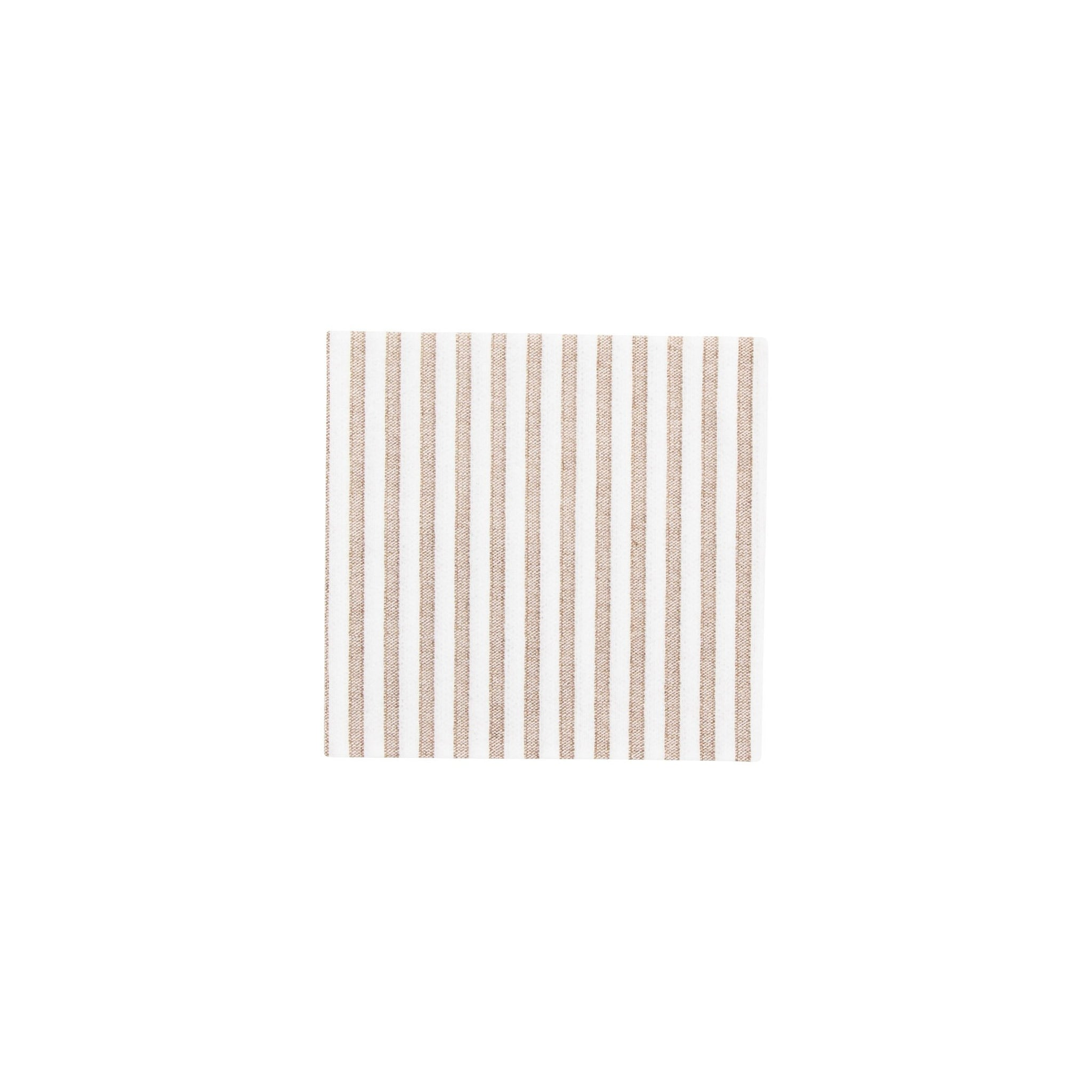 Papersoft Napkins Capri Brown Cocktail Napkins (Pack of 20)