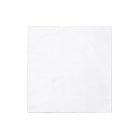 Papersoft Napkins Bianco Solid Dinner Napkins (Pack of 50)