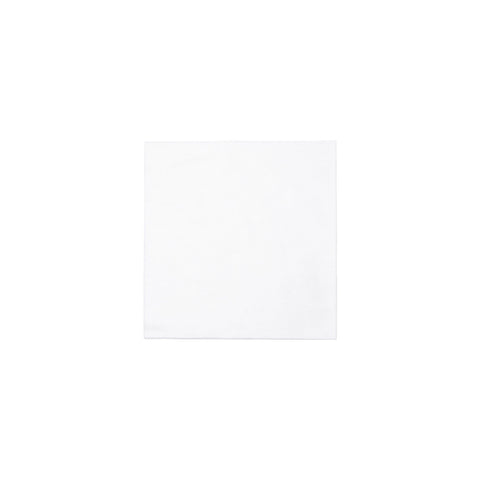 Papersoft Napkins Bianco Solid Cocktail Napkins (Pack of 20)