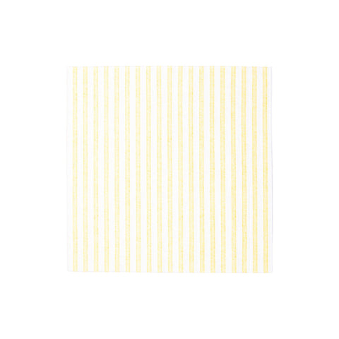 Papersoft Napkins Capri Yellow Dinner Napkins (Pack of 20)