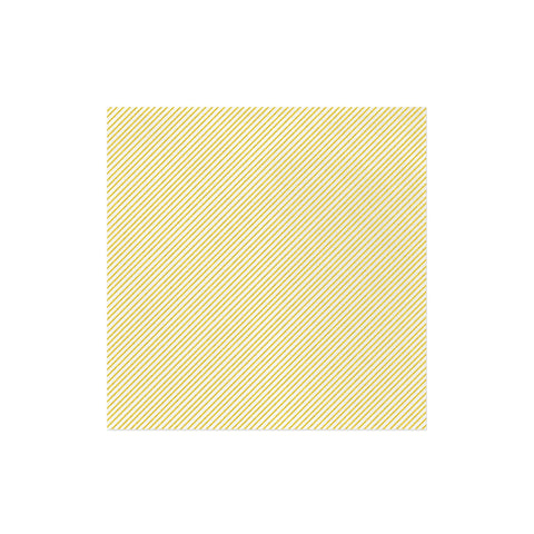 Papersoft Napkins Seersucker Stripe Yellow Dinner Napkins (Pack of 20)