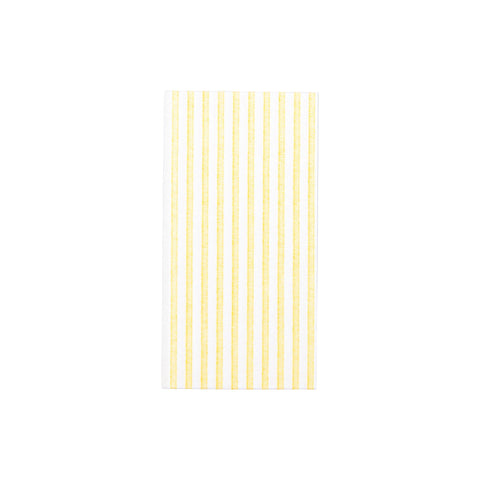 Papersoft Napkins Capri Yellow Guest Towels (Pack of 50)
