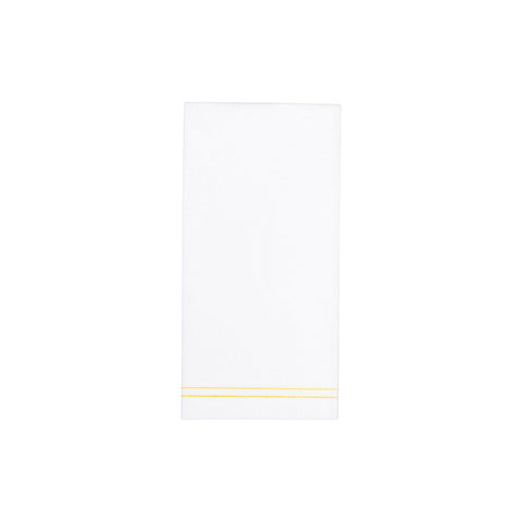 Papersoft Napkins Linea Yellow Guest Towels (Pack of 50)