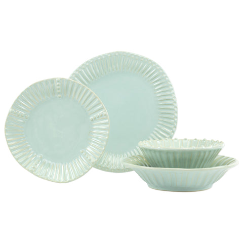 Incanto Stone Stripe Four-Piece Place Setting