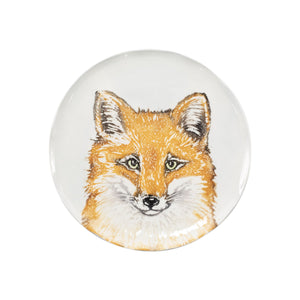 Into the Woods Fox Salad Plate