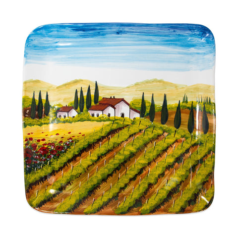 Wall Plates Tuscany Large Square Wall Plate