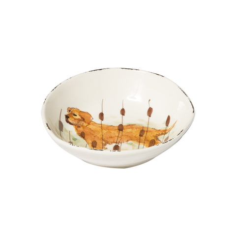 Wildlife Hunting Dog Pasta Bowl