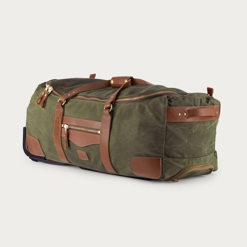 Campaign Waxed Canvas Large Roller Duffle