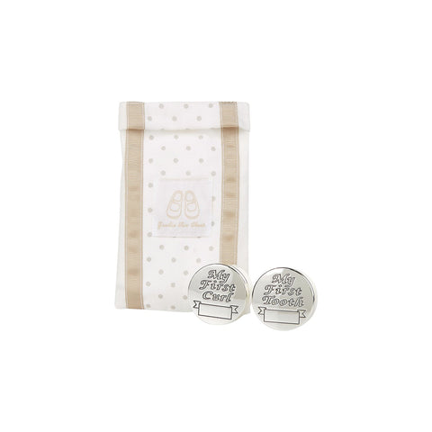 Sterling Silver-Plated Keepsake Box Set