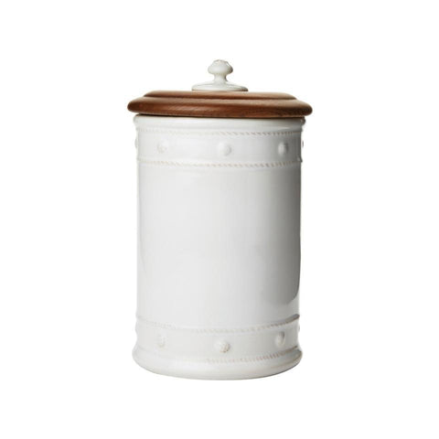 "Berry & Thread - Kitchen & Baking 11.5"" Canister with Wooden Lid"