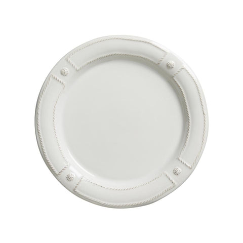 French Panel - Whitewash Dinner Plate