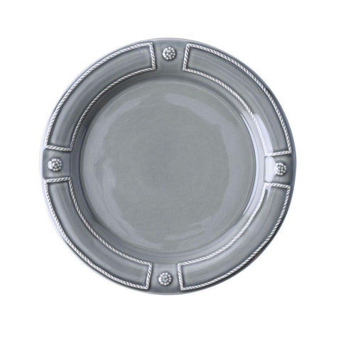 French Panel - Stone Grey Dessert/Salad Plate