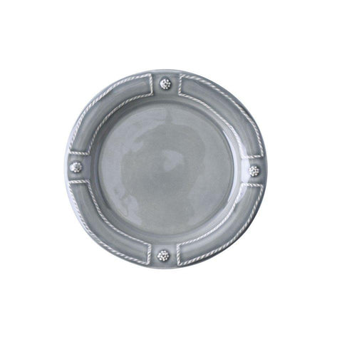 French Panel - Stone Grey Side/Cocktail Plate