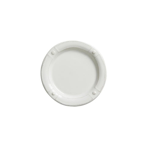 French Panel - Whitewash Side/Cocktail Plate