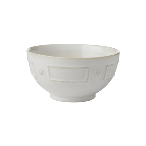 French Panel - Whitewash Cereal/Ice Cream Bowl