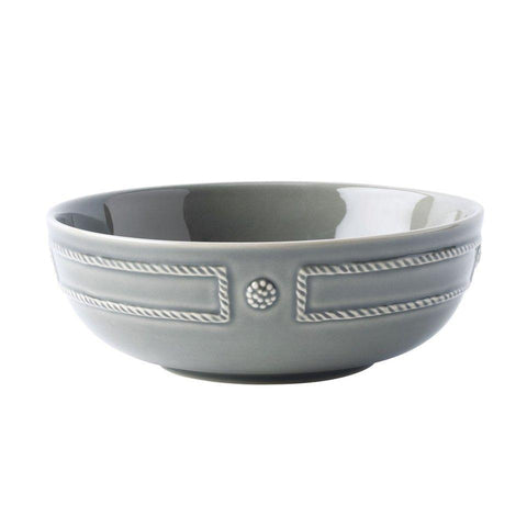 French Panel - Stone Grey Coupe Bowl