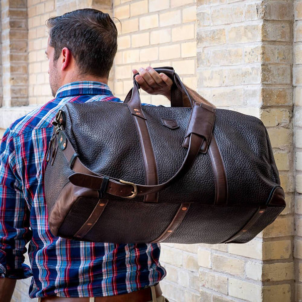 Theodore Leather Duffle
