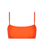 Load image into Gallery viewer, CALIFORNIA BIKINI TOP - NEON ORANGE