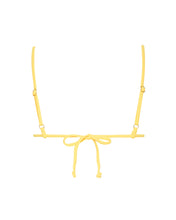 Load image into Gallery viewer, VERNAZZA BIKINI TOP - YELLOW