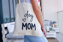 Load image into Gallery viewer, Dog Mom Tote Bag
