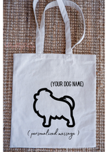 Load image into Gallery viewer, Personalised Breed Tote Bag