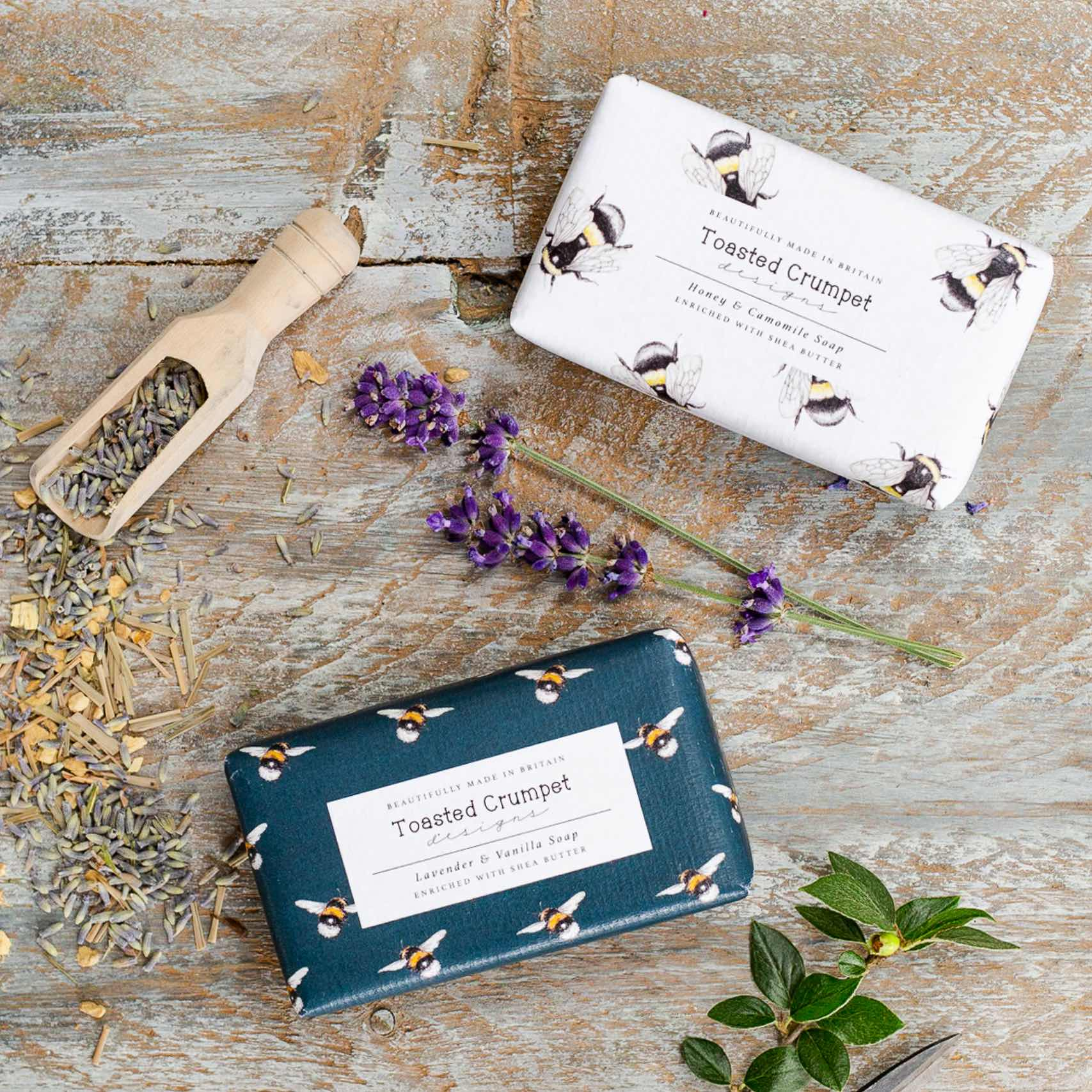 Honey & Camomile Soap Bar