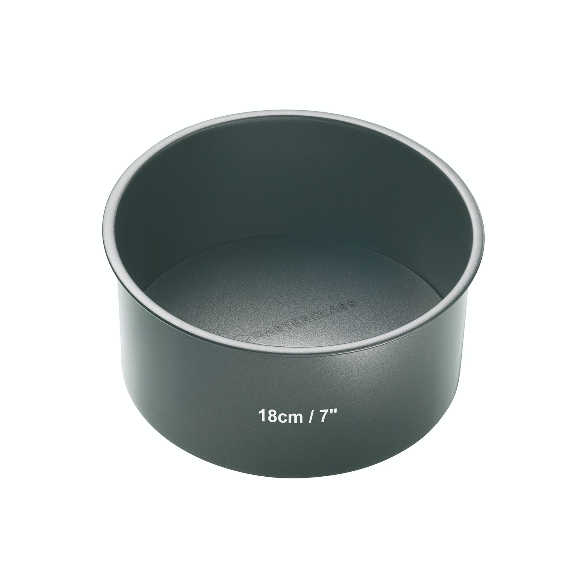 MasterClass Non-Stick 18cm Loose Base Deep Cake Pan