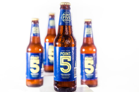 Point 5 Non-Alcoholic Beer - 12 Pack Bottles