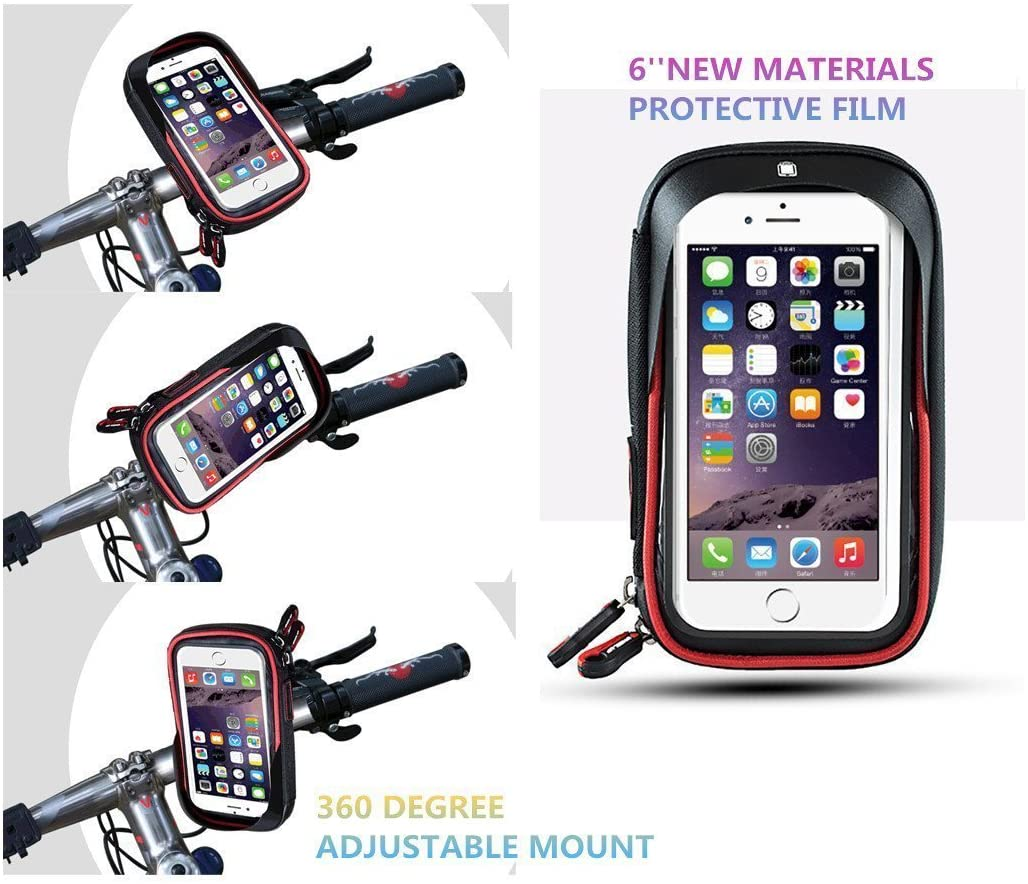 Waterproof Bicycle/Motorcycle Phone Mount