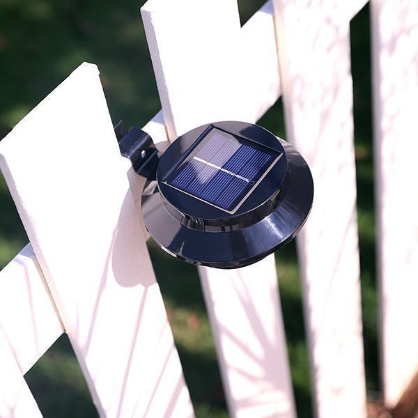 2020 Summer Sale - Solar Powered Gutter Lights