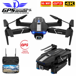 FEMA E525 GPS Drone with 4K / 1080P 5G Wifi FPV HD