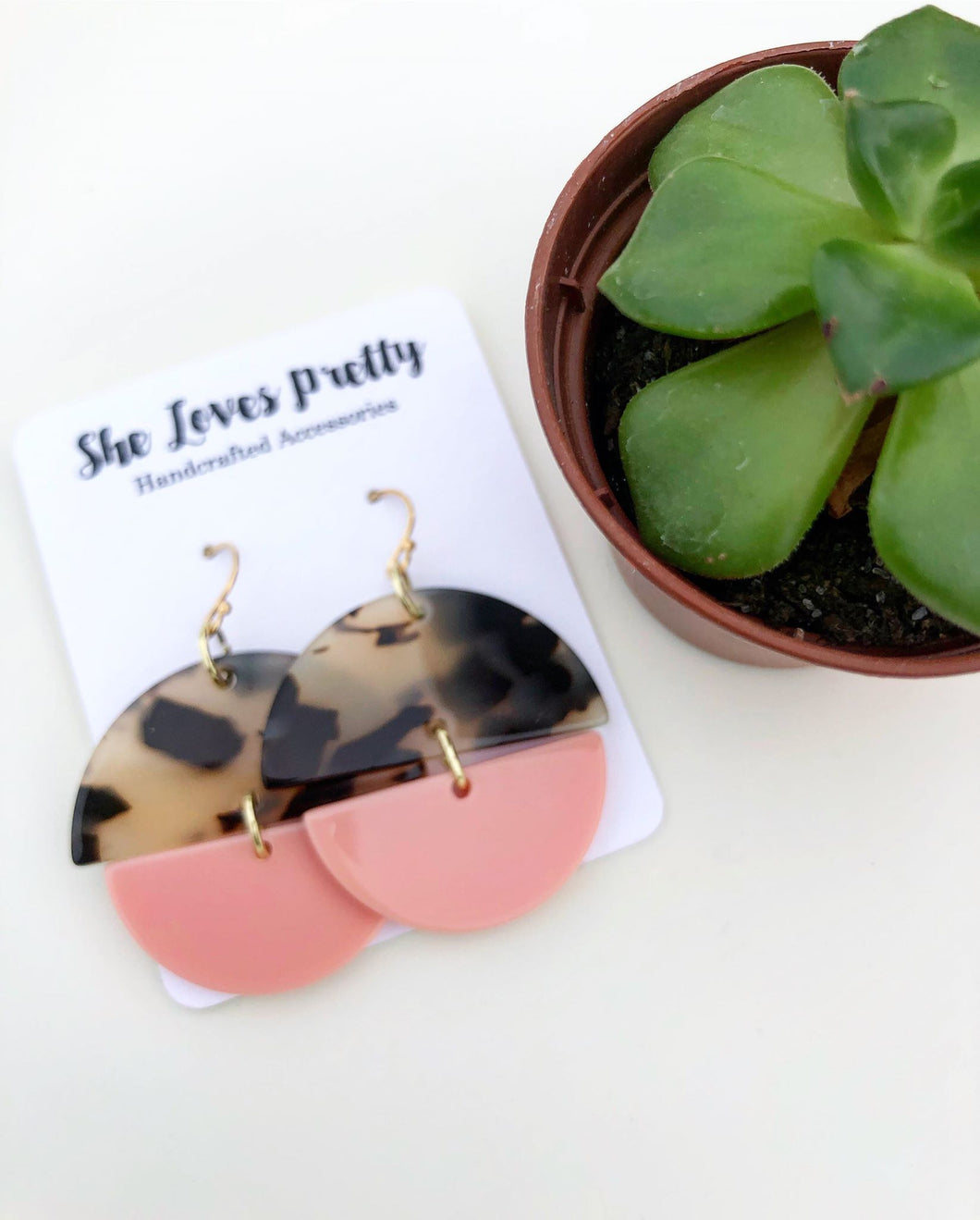 Ventura Half Circle Earrings