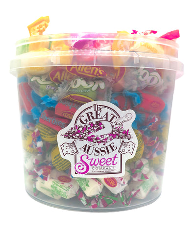 Allen's Wrapped Lollies Tub 1.3kg