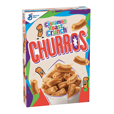 Churros Cinnamon Toast Crunch
