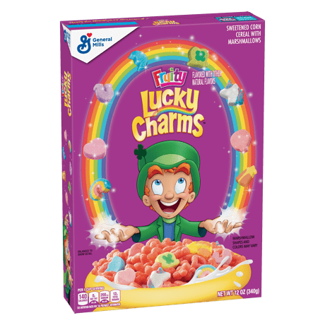 Lucky Charms Fruity Cereal