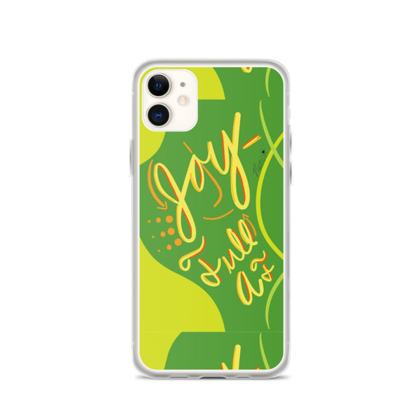 Joy-Full AF iPhone Case