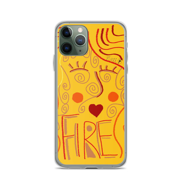 Solar Plexus Mama iPhone Case