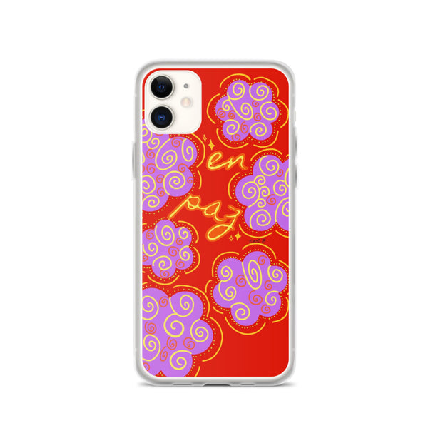 En Paz iPhone Case