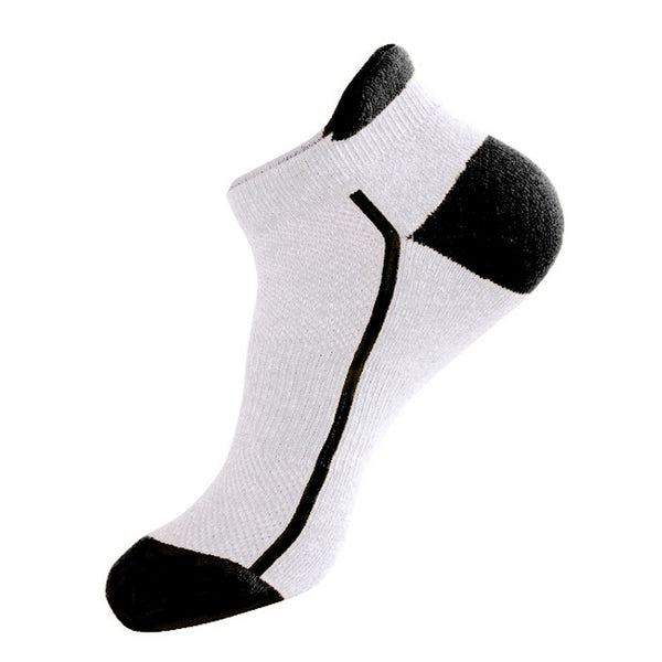 Ankle sports sock made of bamboo